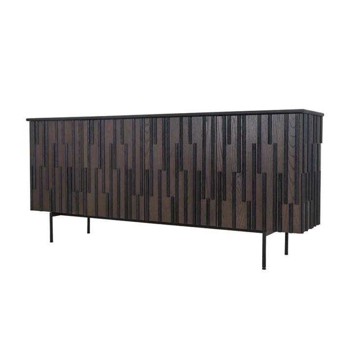 Fowler Sideboard (HL-FSB-791834) - Brown Oak