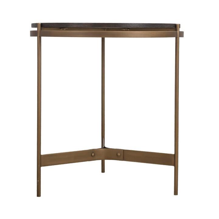 Rio End Table (HL-RIE-262628) - Brown Oak